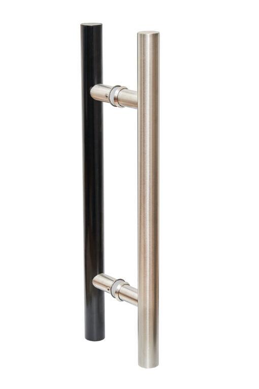 Metall/metall must/roostevaba vertikaalne käepide